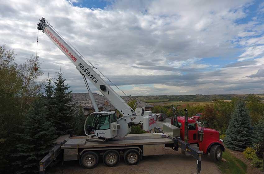 50 tonne crane